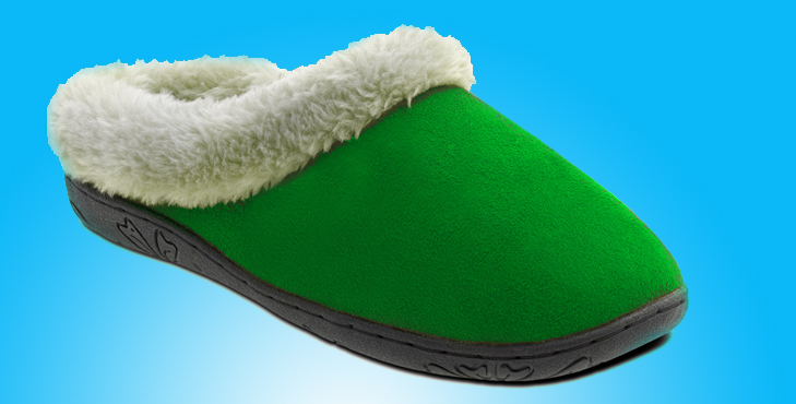 Read the advice on selecting slippers
